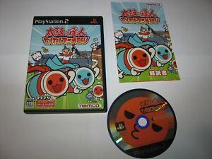 Taiko no Tatsujin Waku Anime Matsuri Playstation 2 PS2 Japan import US Seller