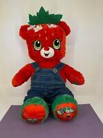 Build-A-Bear - Shopkins - Strawberry Kiss Plush with Clothes - 45cm