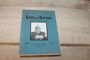 Tetes de Boches, les Allemands peints par eux-memes, Album 3
