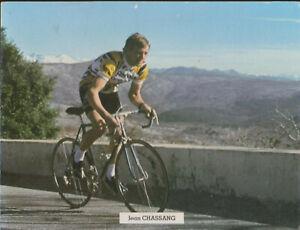 CYCLISME CARTE  JEAN CHASSANG RENAULT GITANE