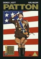 Patton George C Scott Karl Malden Fox UK Regione 2 DVD W/8 Academy Premi Nuovo