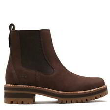 Timberland Courmayeur Valley Womens Ladies Slip On Chelsea Ankle Boots Size 4-8