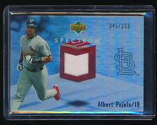 Albert Pujols2007 Upper Deck Spectrum Swatch Jersey 045/199 St. Louis Cardinals