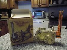 Avon Train Steam Engine Golden Rocket 022 0-2-2 After Shave Vintage w/Box
