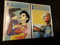 THE MARKED #2 COVER A AND COVER B VARIANT IMAGE COMICS. FRESH NM COPIES!