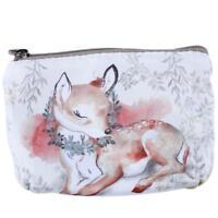 Cute Small Clutch Wallet Key Card Holder Mini Pouch Handbag Women Coin Purse W
