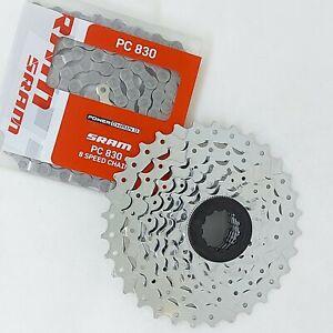 SRAM PowerPack Cassette & Chain - Bike Bicycle cycle MTB Hybrid Road   MULTIPACK