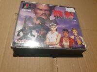 Tekken 2 PlayStation 1 PS1 Double Game Case Manual Tested UK