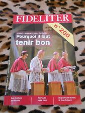 Revue - FIDELITER n° 200, 2011