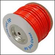 John Guest 12mm OD Semi-Rigid Water Pipe - RED - Per m - Caravan / Motorhome