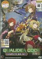 QUALIDEA CODE - COMPLETE ANIME TV SERIES DVD BOX SET (1-12 EPS)