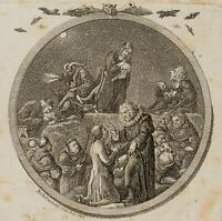 CHODOWIECKI (1726-1801). Walpurgisnacht; Druckgraphik 1