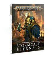 Battletome: Stormcast Eternals - Warhammer Age of Sigmar - Brand New!