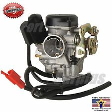GY6 Carburetor 50cc Scooter Moped Carb Roketa Sunl JCL Taotao Baja GY 6 18mm