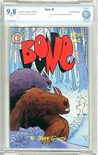 Bone  #2  CBCS  9.8  NMMT  White pages  Fourth Printing 9/91 1st comic book App.