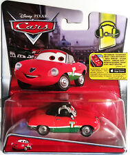 Disney Pixar Cars 2 guiseppe motorosi-Francesco bernoullis Team Chief nuevo embalaje original