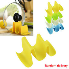 Wave Style Pan Pot Lid Cover Spoon Rack Stand Rest Holder Kitchen Utensil