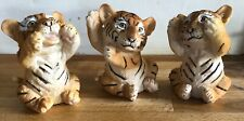 3 Latex Moulds for making this Trio Of Tiger Cubs