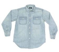 Polo Ralph Lauren Boys Denim Button Down Long Sleeve Shirt sz L /6810