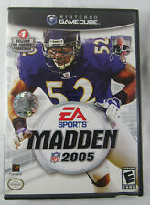 Madden NFL 2005 (Nintendo GameCube, 2004) Cleaned & Tested!