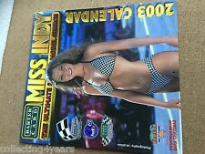 2003 Calender RARE MISS INDY ultimate model search bikini chick babes
