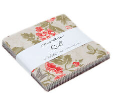 """CHARM PACK~QUILL~MODA FABRIC~42-5""""SQUARES~3 SISTERS~44150PP~BEAUTIFUL FLORAL"""