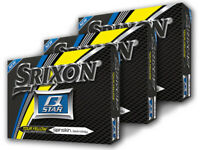 Srixon Q-Star Golf Balls - 3 Dozen Yellow -  Mens