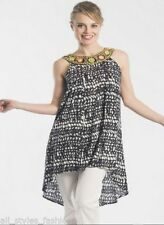 Evening, Occasion Tunic Sleeveless Tops for Women