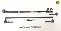 Per Jeep Wrangler Tj Sterzo Kit Riparazione Guida a Sinistra 6PCS 1997-2006