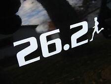 """26.2 Marathon Decal Sticker Runner Logo Run *NEW Design 5"""""""