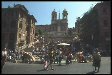 111016 Spanish Steps Rome A4 Photo Print