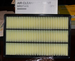 MITSUBISHI FACTORY OEM MR571476 AIR CLEANER ELEMENT FILTER MONTERO OEM NEW
