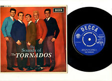 "TORNADOS.SOUNDS OF.UK ORIG 4 TRACK ""MONO"" EP & PIC/SL.EX+"