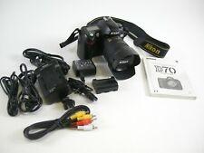 Nikon D70 6.1MP Digital SLR Camera w/ AF-S DX IF ED 18-70mm f3.5-5.6G lens