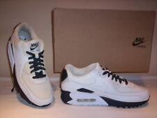 zapatillas deportivas Nike Air Max 90 hombre gimnasia piel lona blancas 40,5