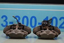 07-09 MERCEDES CLS550 E550 SL550 FRONT BRAKE CALIPERS LEFT & RIGHT PAIR