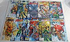 AQUAMAN 41 ISSUE COMIC RUN 0-40 COMPLETE (2012) DC COMICS