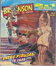 BRONSON EL SUCIO mexican comic, action #2