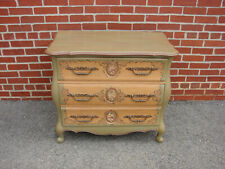 Hickory Company Painted Bombay 3 Drawer Chest Shabby Chic