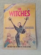 More details for roald dahl / quentin blake - david wood - the witches, theatrical programme 1992