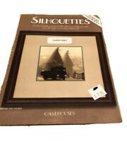 Heritage Stitchcraft Silhouettes Oast Homes Cross Stitch Pattern Sepia toned