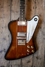 1963 Vintage Gibson Firebird III Sunburst finish comes with original hard case