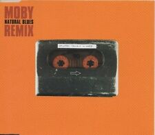 MOBY Natural Blues REMIX 3 TRACK CD NEW - NOT SEALED