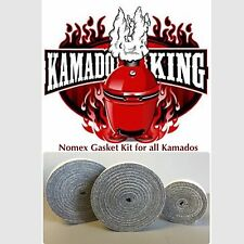 Kamado King Nomex Grill Gasket Grey High Temp Fits Large XL