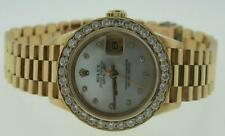 Ladies Rolex Presidential Yellow gold Diamond Watch !!!