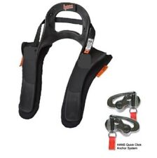Hans Device III Large 20 Degree With Quick Click Sliding Tethers Bell Arai