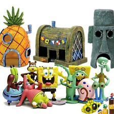 Spongebob Squarepants Pineapple House Fish Tank Aquarium Ornament Home Decor
