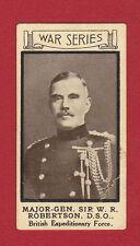 PICTURE HOUSE, HARROGATE - VERY RARE MILITARY CARD - WAR PORTRAITS NO. 22 - 1915
