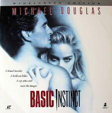 BASIC INSTINCT WS CC NTSC LASERDISCMichael Douglas, Sharon Stone, George Dzundza