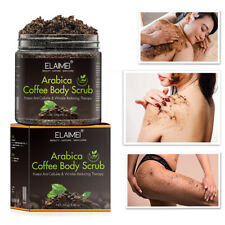 Coffee Arabica Dead Sea Salt Body Scrub Natural Detoxifying Mineral-Rich 250g
